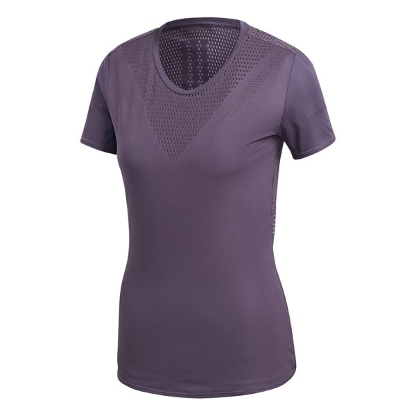 adidas trainingsshirt dames paars