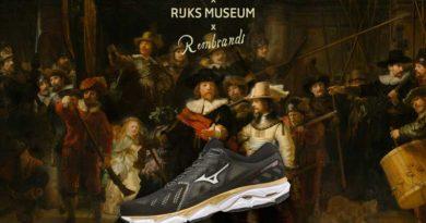 Mizuno en Rijksmuseum presenteren hardloopschoen Rembrandt